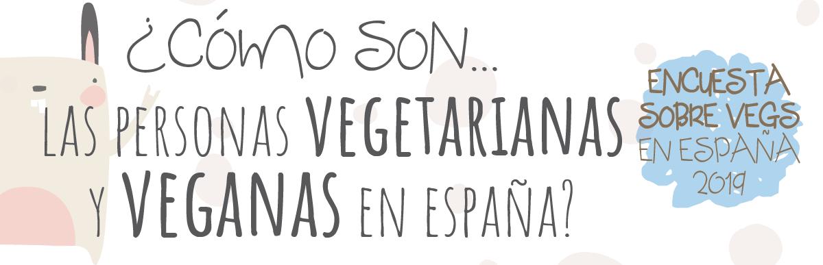 Resultados de la encuesta sobre vegetarianos/as y veganos/as en España