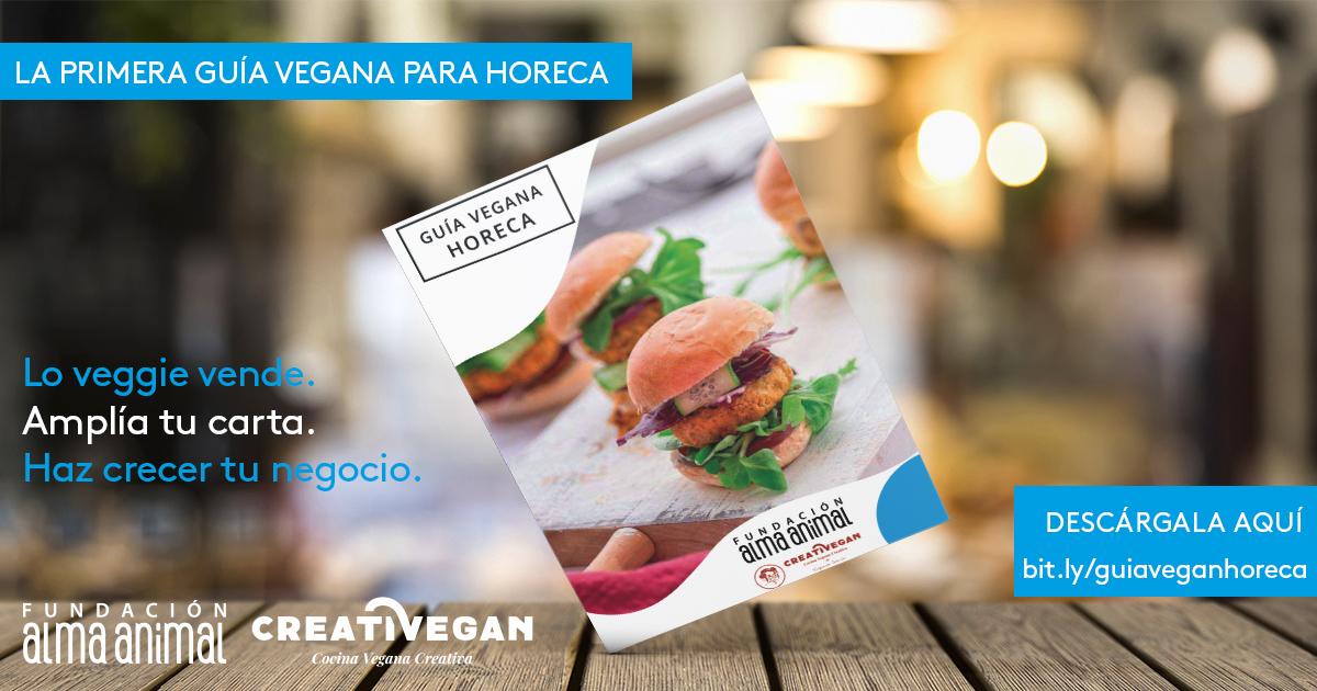 Guía Vegana HORECA - Fundación Alma Animal